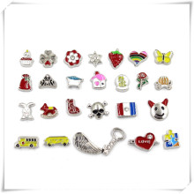 Wholesale Customize Fashionable Metal Glass Locket Charms