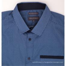 Оптом Повседневная джинсовая рубашка с короткими рукавами