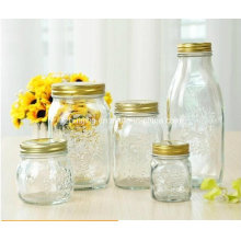 in Stock 150ml 300ml 500ml Food Storage Glass Mason Jar
