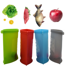 Plastique réutilisable en silicone Emballages alimentaires Sacs de rangement