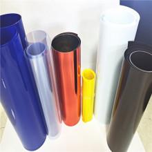 Colorful PVC plastic film