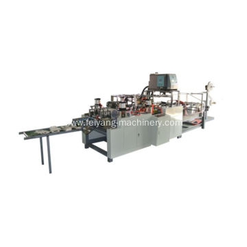 hot glue flat paper handle making machine