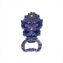Classique antique imitation style gros porte-clés en métal blanc