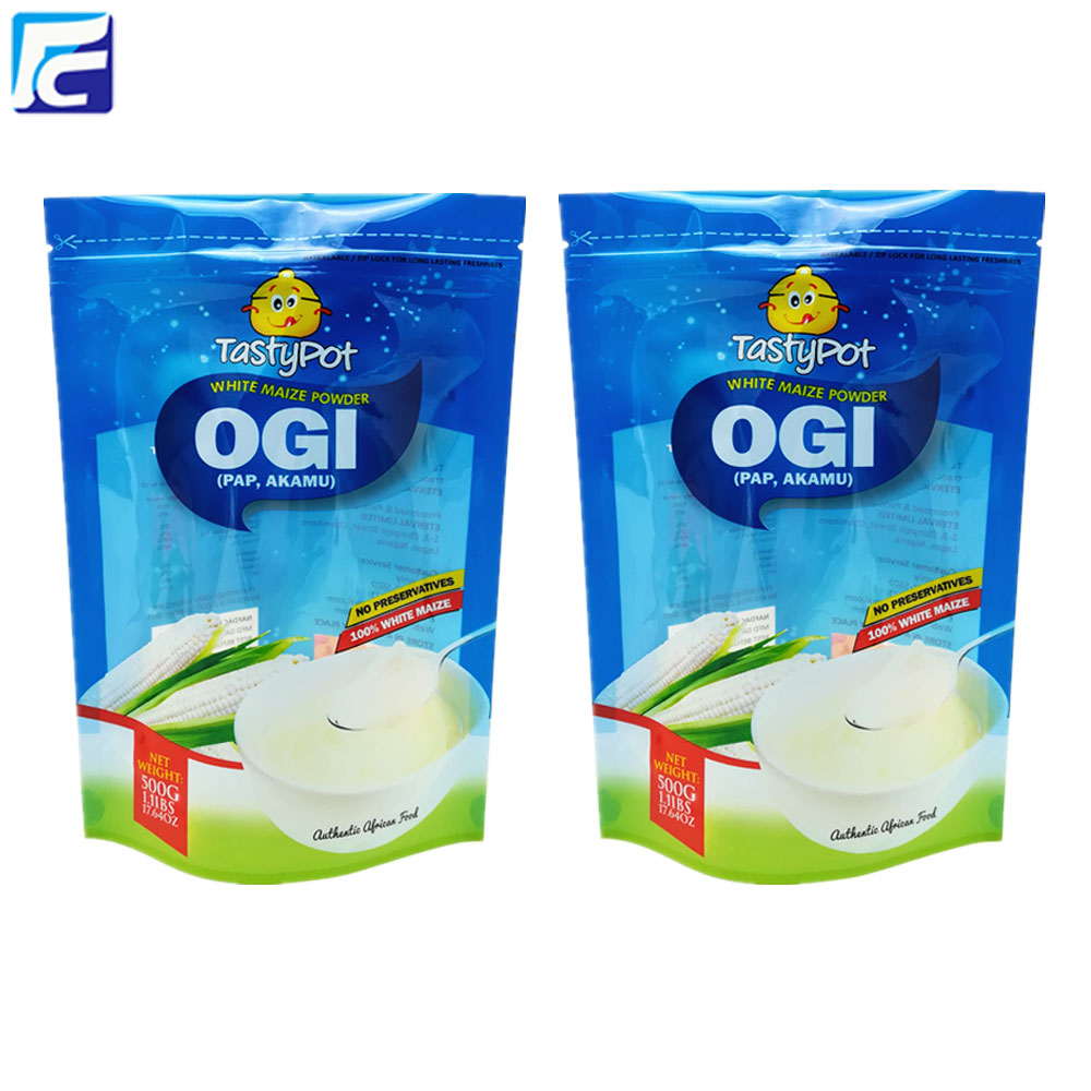 Powder Packaging Bag with Window