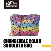 Custom changeable color PU fasion ladies bag