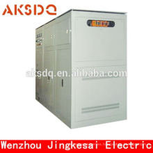 2015 Venta caliente SBW trifásico de alta potencia Sub-tono de compensación automática Estabilizador de voltaje de alimentación Yueqing