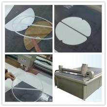Non-Asbestos Fiber Cement Gasket Roofing Sheet Cutting Machine