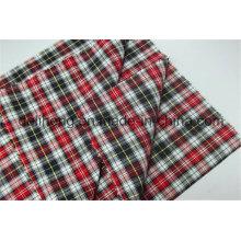 Tissus 100% coton teintés en fil de coton pour chemises