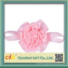 Satin Ribbon Flower for wedding decoration 2014