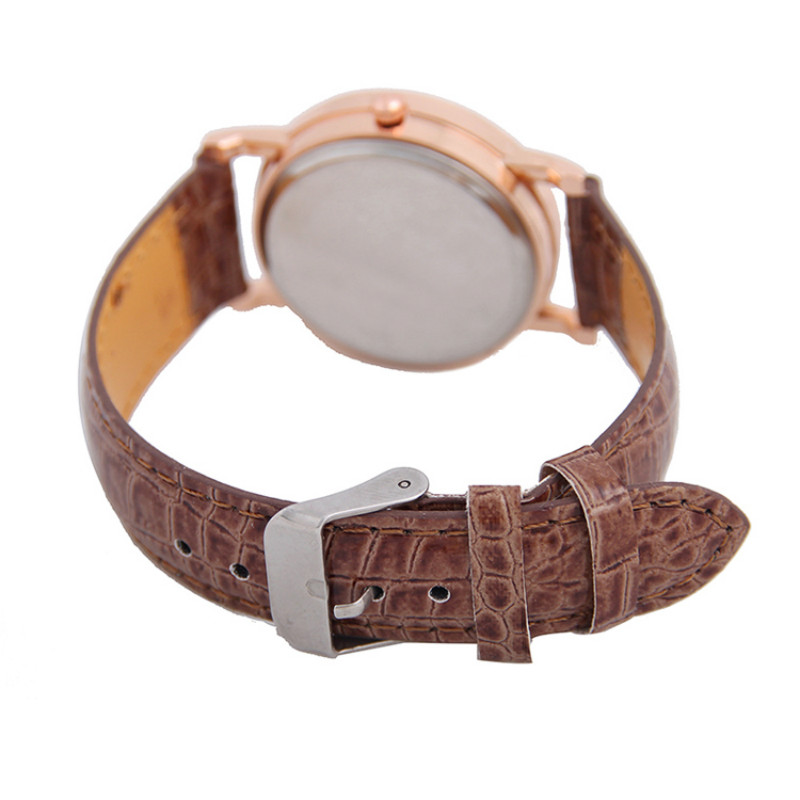 Genuine Leather Quartz Watches