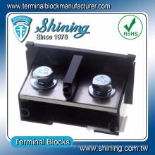 ТЭ-400 DIN-рейку Тип соединения / сочленения 400 шкаф amp доска терминала