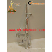 Ak47 Gun Design Chicha Nargile Smoking Pipe Shisha Hookah