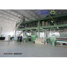 3200mm SMS Spunbond PP Non Woven Fabric Making Machine Low