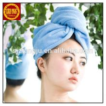 Bamboo fiber hair towel hair drying bath towels hair wrap turban towel
