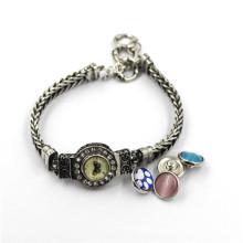 Heißer Verkaufs-Verschluss-Knopf-Armband, buntes Knopf-Armband