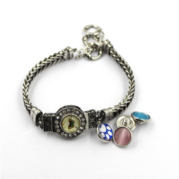 Bracelet à bouton-pression à chaud, bracelet à bouton coloré