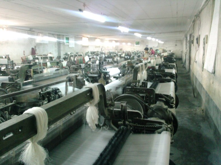 grey fabric produce workshop
