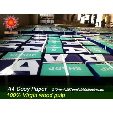 A4 Kopierpapier 80g Papierlinie Gold