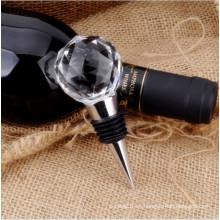 Tapones de botella de vino de cristal decorativos caseros (KS20028)