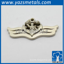 cool angel wing badges