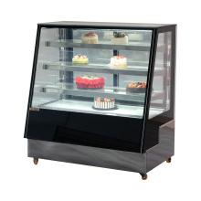 Vitrine créative de présentoir durable de réfrigérateur d'affichage de gâteau