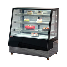 Creative cake display fridge durable display stand showcase