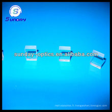 Plaque de verre carrée optique