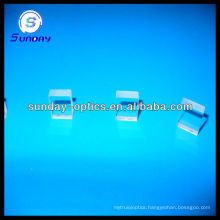 Optical square glass plate