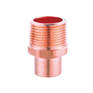 Copper Male Adapter Male Thread Connection