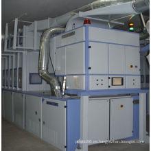 Máquina clasificadora de diferentes fibras en Spinning