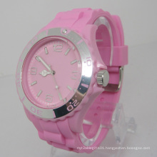 New Environmental Protection Japan Movement Plastic Fashion Watch Sj073-7