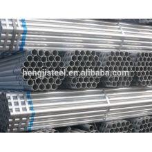 ERW material de construção tubo de aço galvanizado
