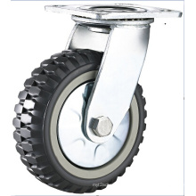 High Quality Heavy Duty PU Trolley Wheel Caster