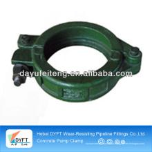 A braçadeira de alta qualidade do bloco de cimento DN125 forjou-se / moldando