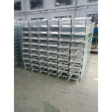 Cable tray external riser