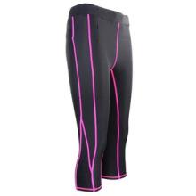 Stock Women Pink Rash Guard Nylon Spandex SRC-106