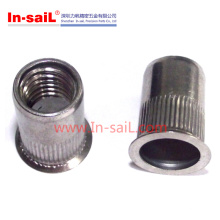 Reduce Head Knurled Body M6 Rivet