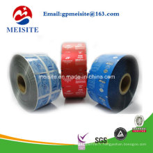 Soft Transparent Laminated Packaging Roll, emballage alimentaire en plastique Roll Film