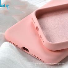 Étui transparent en caoutchouc de silicone LSR TPU pour téléphone