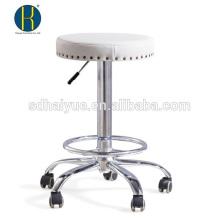 Muebles de la barra de la PU blanca del diseño euro para la venta con la base de cinco estrellas
