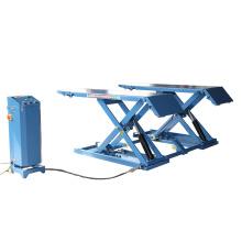 mobile car scissor lift with 3500 kg lifting capacity