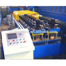 Machine de formage de rouleaux de poteau et de poteau à double forme, Machine à formage de rouleaux de canalisation de métal à grande vitesse