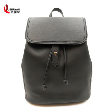 Adventure Large Vegan Leather Backpacks Skateboard Bag