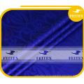 Королевский синий 100%хлопок африканских Бубу ткань Базен Гвинея brocade уникальной одежды