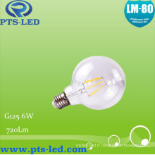 Ampoule à Filament Dimmable G125 6W