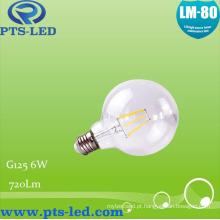 G125 6W Dimmable lâmpada incandescente
