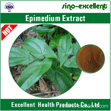 Extracto natural de Epimedium con Icariins