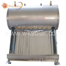 Compact Pressurized Solar Water Heater with Inter Copper Coil