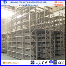 Steel Multi-Tiers Mezzanine Rack / Shelving for Factory / Warehouse Storage