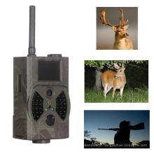Câmera ao ar livre da fuga da caça do Fash do preto da deteção de movimento 12MP, email do MMS de GPRS, comando de SMS